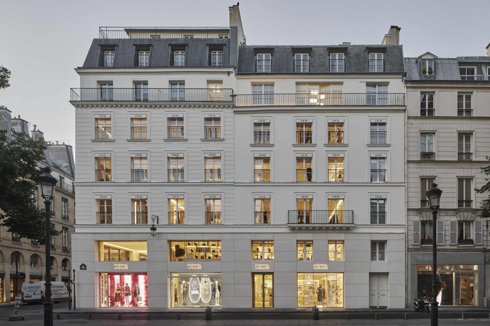 Dior Saint-Honoré, flagship store, Paris